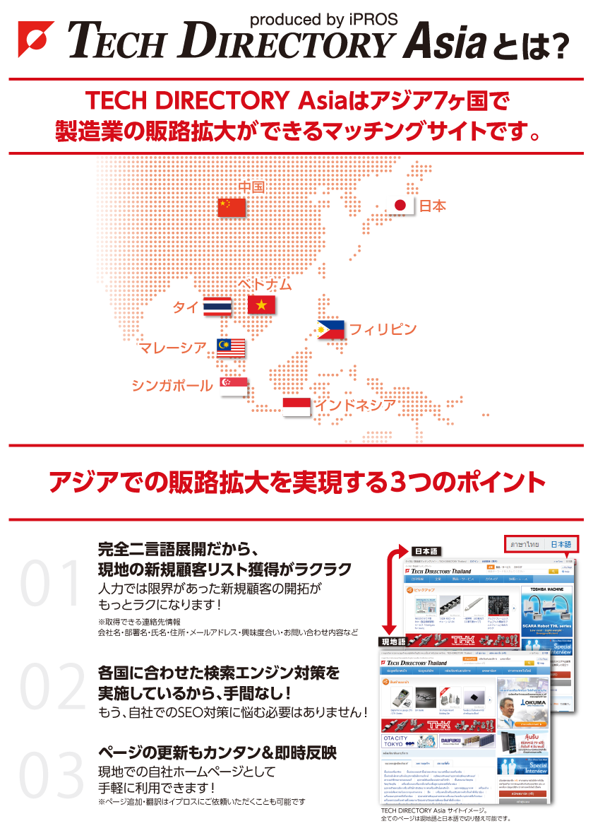 TECH DIRECTORY Asiaとは?